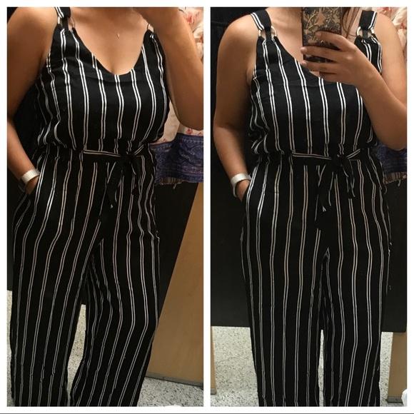 ca52d34cc12 Derek Heart Dresses   Skirts - Striped Full Length Jumpsuit